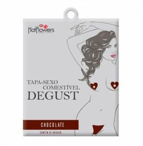 Tapa Sexo Solúvel Degust - Chocolate